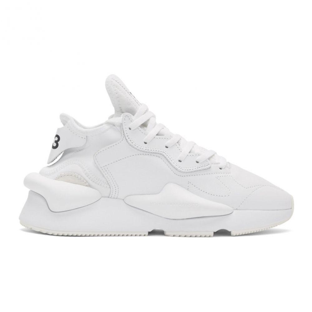 ワイスリー Y-3 メンズ シューズ・靴 スニーカー【White Kaiwa Sneakers】