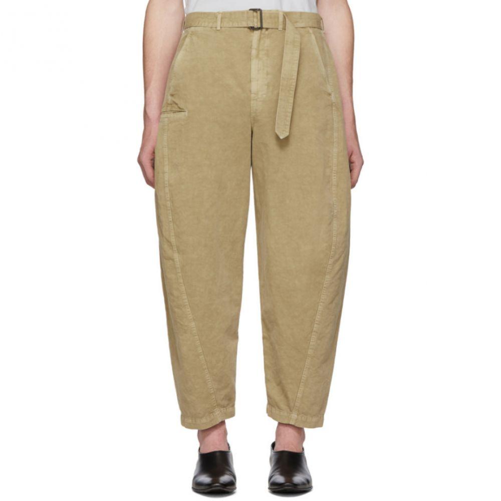 ルメール Lemaire メンズ ボトムス・パンツ チノパン【Beige Twisted Chino Trousers】