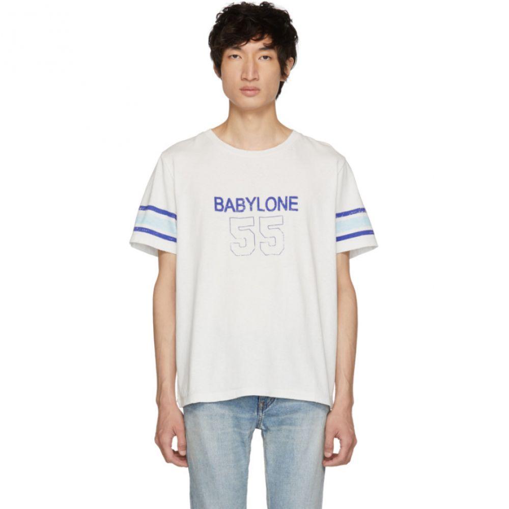 イヴ サンローラン Saint Laurent メンズ トップス Tシャツ【Off-White 'Babylone' T-Shirt】