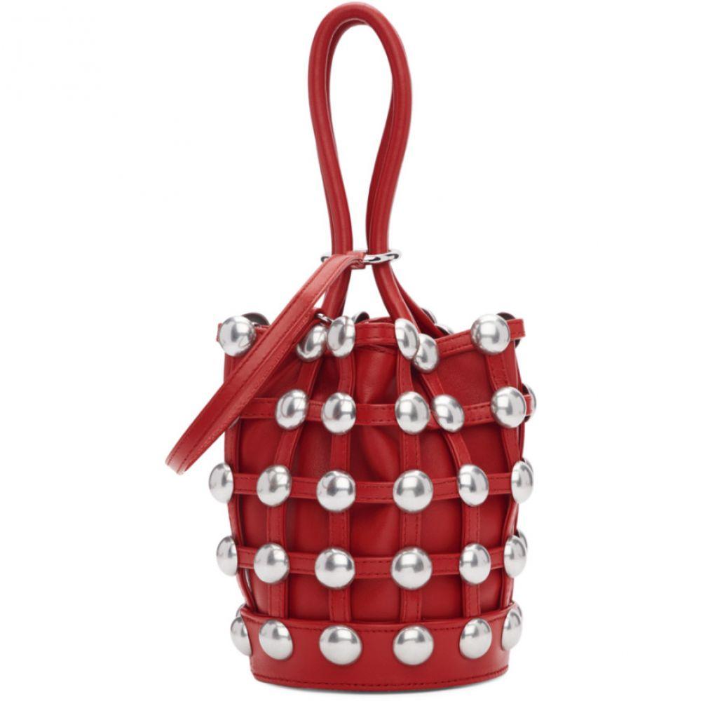 アレキサンダー ワン Alexander Wang レディース Bag】 バッグ ハンドバッグ レディース【Red Mini アレキサンダー Roxy Cage Bucket Bag】, タカハシシ:d97d8a52 --- sunward.msk.ru