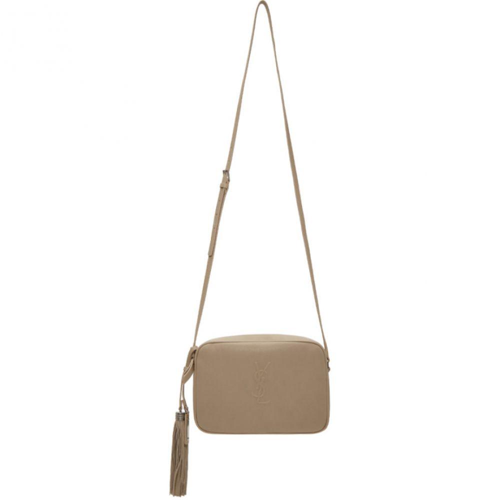 イヴ サンローラン Saint Laurent レディース バッグ【Taupe Medium Embossed Lou Camera Bag】