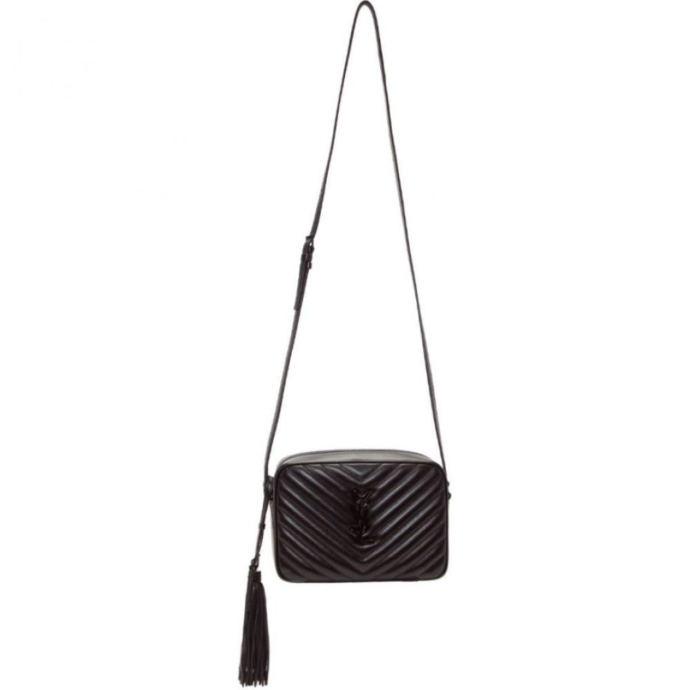 イヴ サンローラン Saint Laurent レディース バッグ【Black Medium Lou Camera Bag】