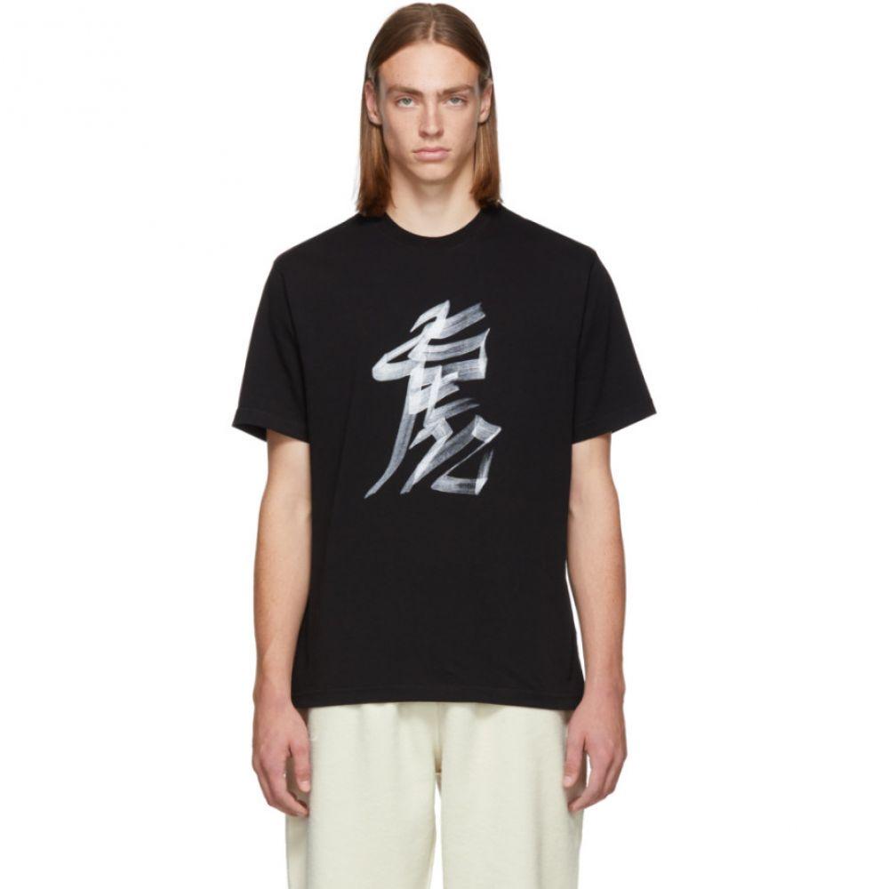 ヴェトモン Vetements メンズ トップス Tシャツ【Black Tiger Chinese Zodiac T-Shirt】