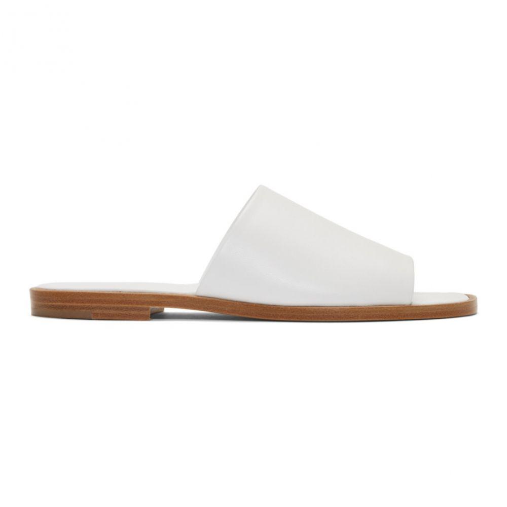 エープランアプリケーション A_Plan_Application メンズ Sandals】 シューズ・靴 サンダル【White メンズ Flat Sandals】, チタグン:3b390b09 --- sunward.msk.ru