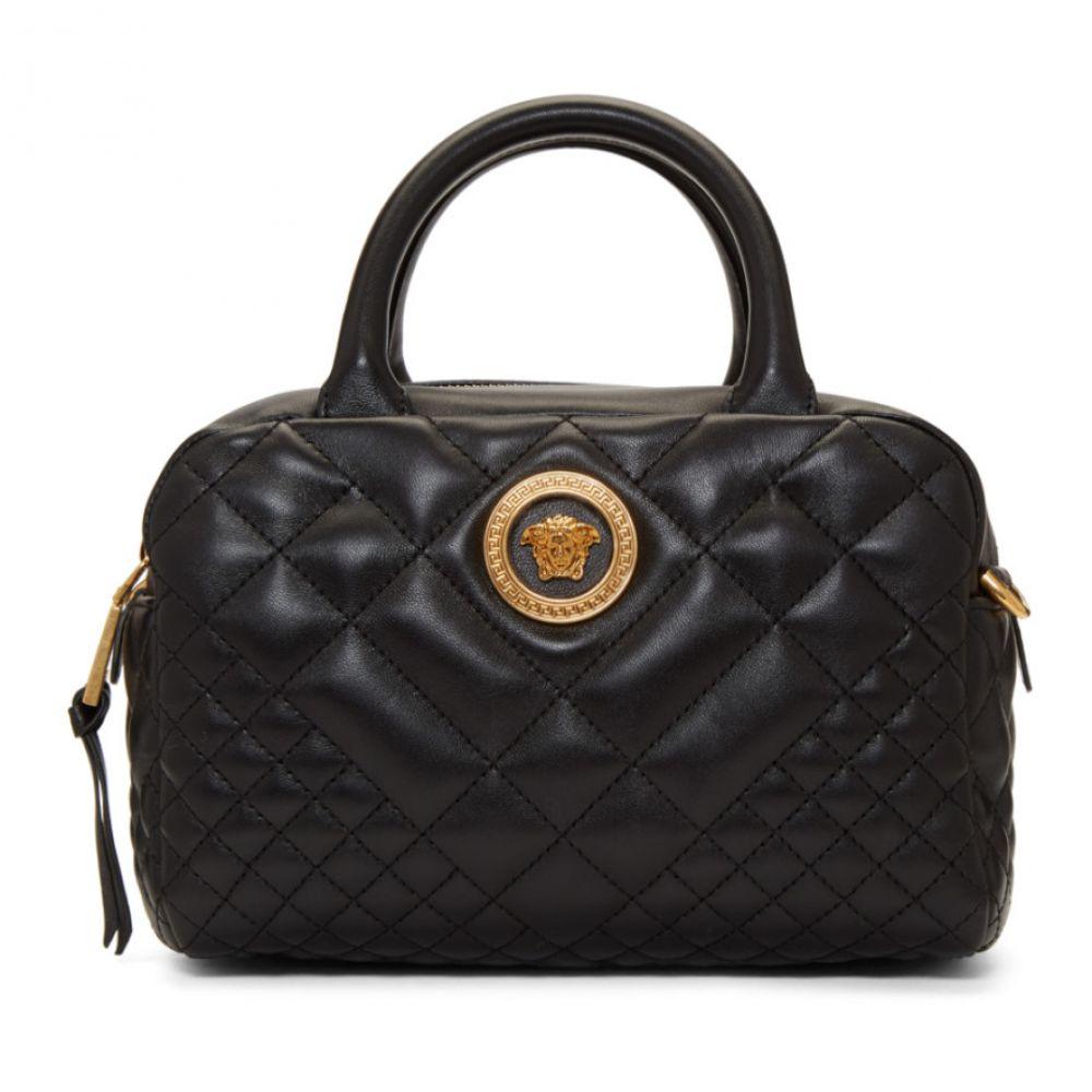 ヴェルサーチ Versace レディース バッグ ハンドバッグ【Black レディース Small Small Versace Tribute Bowling Bag】, 綾部市:ccae9802 --- sunward.msk.ru