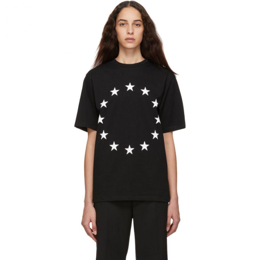 エチュード ?tudes レディース トップス Tシャツ【Black Europa Wonder T-Shirt】