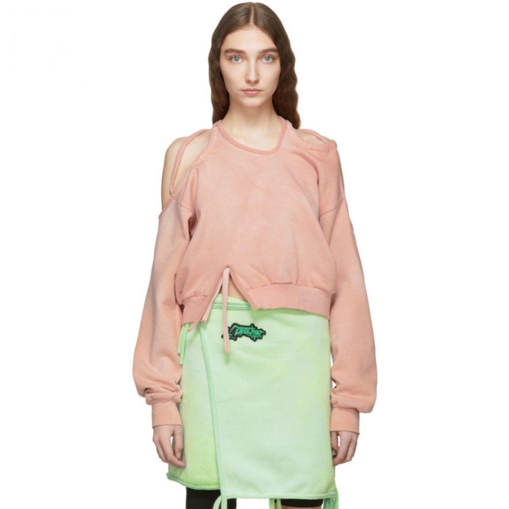 オットリンガー Ottolinger レディース トップス スウェット・トレーナー【Pink Halter Sweatshirt】