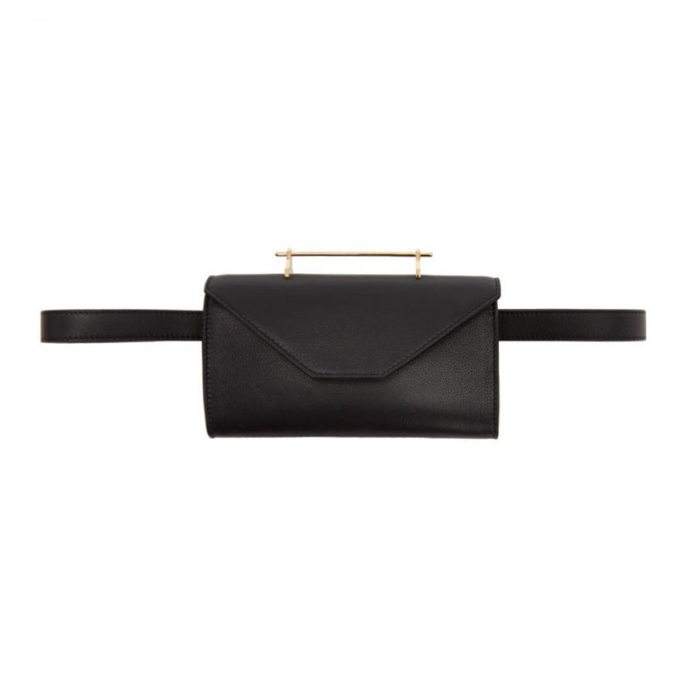 エムツーマレティエ M2Malletier レディース バッグ ボディバッグ・ウエストポーチ【Black M026 Belt Bag】