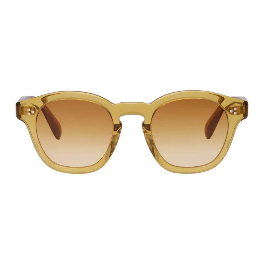 オリバーピープルズ Oliver Peoples メンズ メガネ・サングラス【Yellow Bourdeau LA Sunglasses】