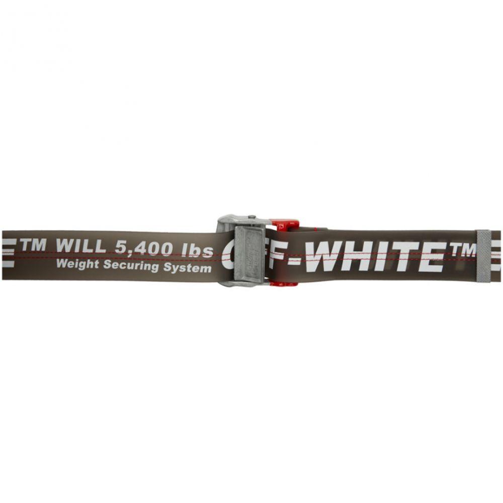 オフ-ホワイト Off-White レディース ベルト【White & Grey PVC Industrial Belt】