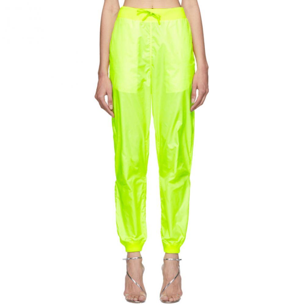 オフ-ホワイト Off-White レディース ボトムス・パンツ スウェット・ジャージ【Yellow Two-Layer Lounge Pants】