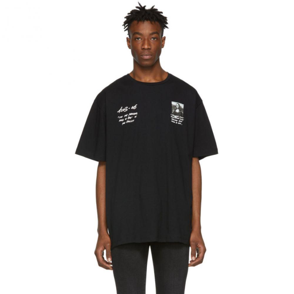 オフ-ホワイト Off-White メンズ トップス Tシャツ【Black Monalisa トップス Tシャツ【Black Off-White T-Shirt】, イナシ:b980a09c --- sunward.msk.ru