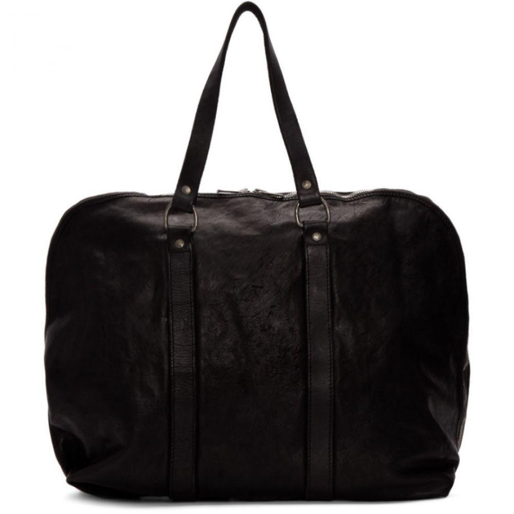 グイディ Guidi メンズ バッグ ボストンバッグ・ダッフルバッグ【Black Small Weekender Duffle Bag】