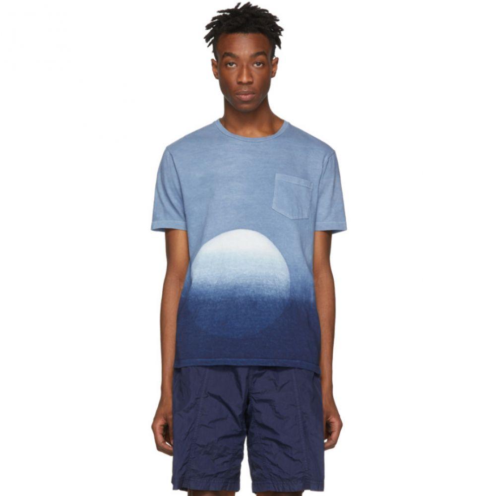ブルーブルージャパン Japan Blue Blue Japan メンズ トップス トップス T-Shirt】 Tシャツ【Blue Big Circle Itajime T-Shirt】, 保原町:afc0dd79 --- sunward.msk.ru