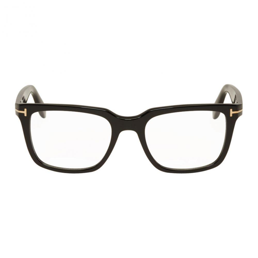 トム フォード Tom Ford メンズ メガネ・サングラス【Black Square Frame Glasses】