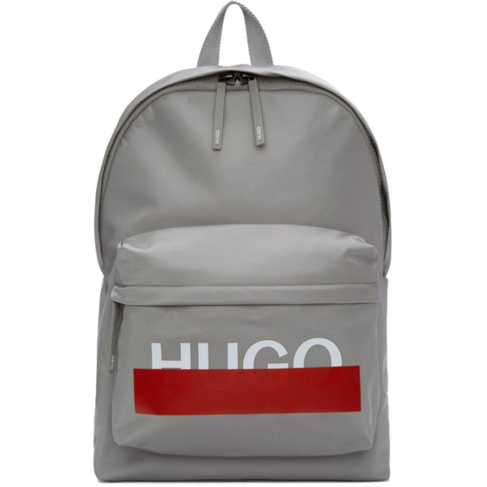 ヒューゴ ボス Hugo メンズ バッグ バックパック・リュック【Grey Logo Backpack】