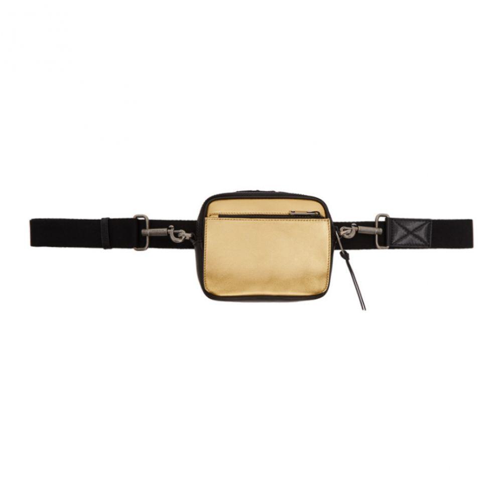ジバンシー Givenchy メンズ バッグ メッセンジャーバッグ【Black & Gold MC3 Cross Body Bag】