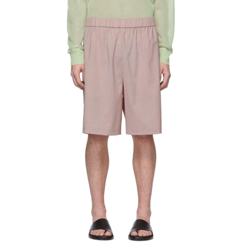 ティビ Tibi メンズ ボトムス・パンツ ショートパンツ【SSENSE Exclusive Pink Wool Shorts】