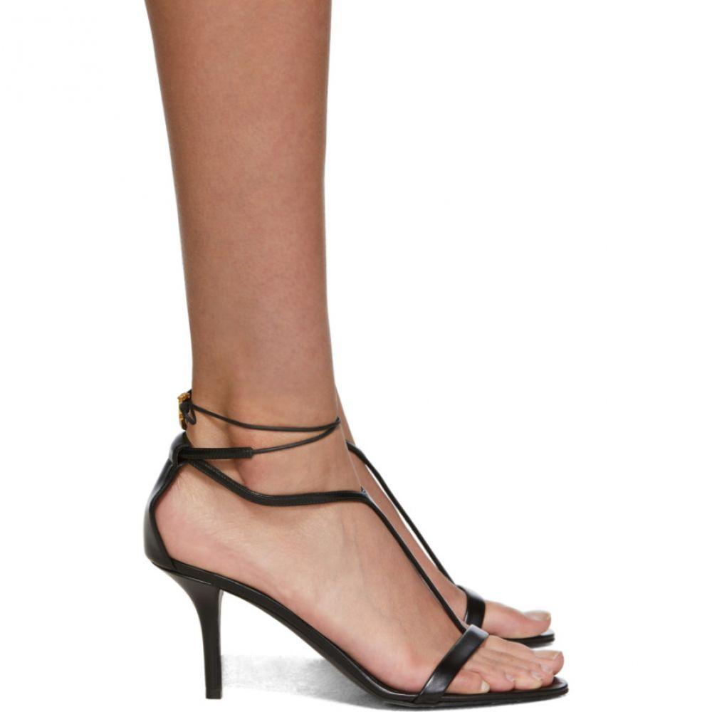 ステラ マッカートニー Stella McCartney レディース シューズ・靴 サンダル・ミュール【Black Strappy Sandals】