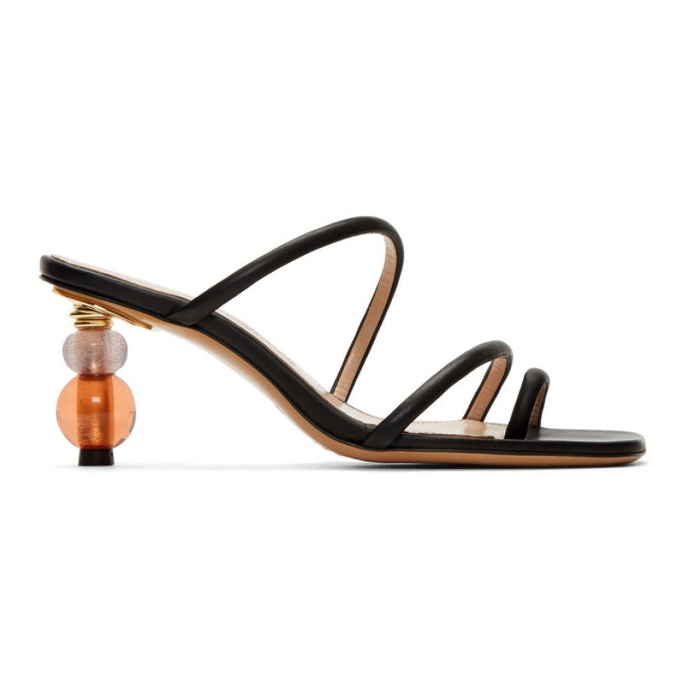 ジャックムス Jacquemus レディース シューズ・靴 サンダル・ミュール【Black 'Les Sandales Noli' Sandals】