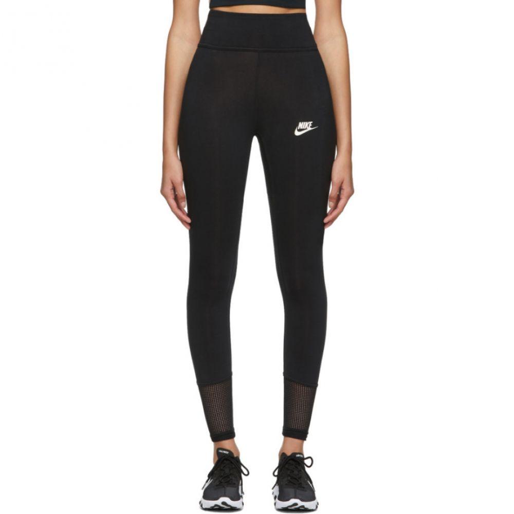 ナイキ Nike レディース インナー・下着 スパッツ・レギンス【Black Mesh Tight-Fit Leggings】