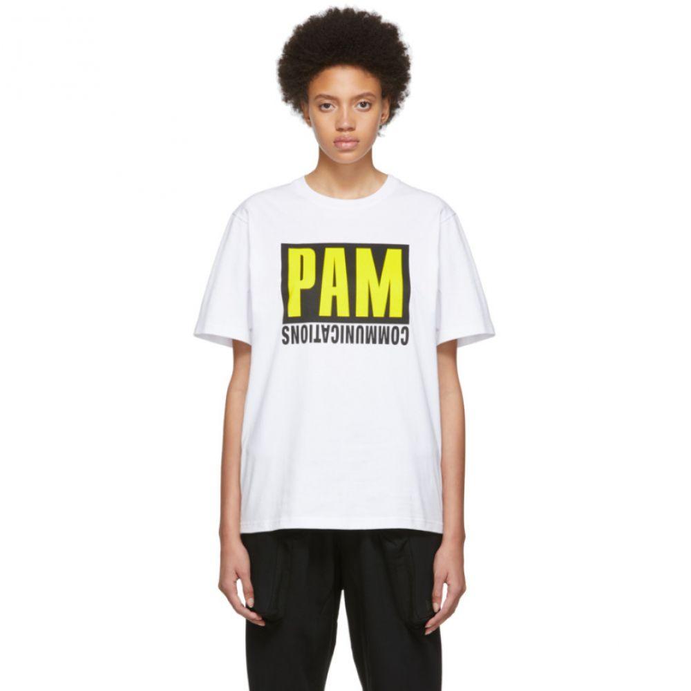 パークスアンドミニ Perks and Mini レディース トップス Tシャツ【White Get Out Of The Box T-Shirt】