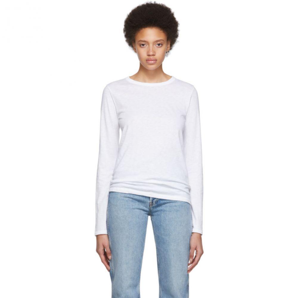 ラグ&ボーン rag & bone レディース トップス 長袖Tシャツ【White 'The Longsleeve' Long Sleeve T-Shirt】