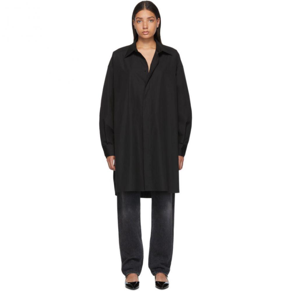 メゾン マルジェラ Maison Margiela レディース ワンピース・ドレス ワンピース【Black Shirt Dress】