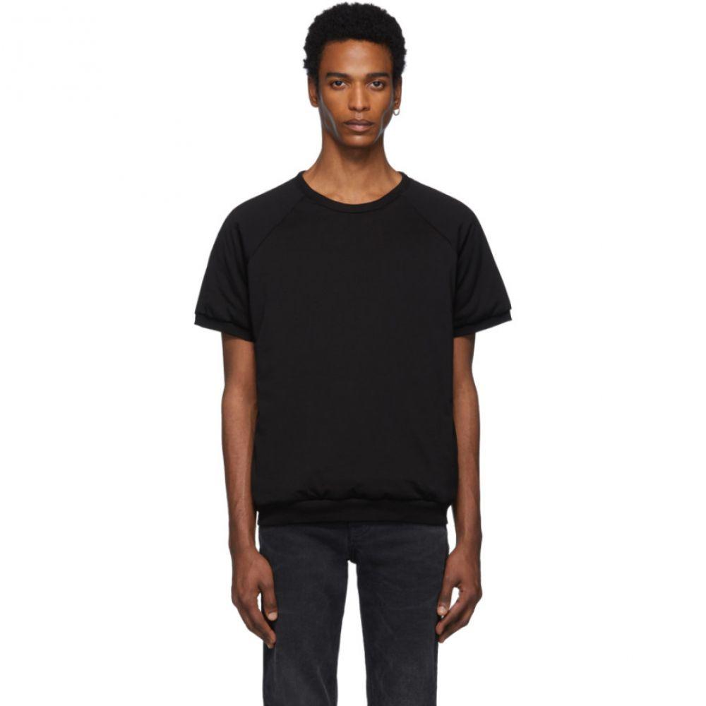 メゾン マルジェラ Maison Margiela メンズ トップス Tシャツ【Black Padded T-Shirt】