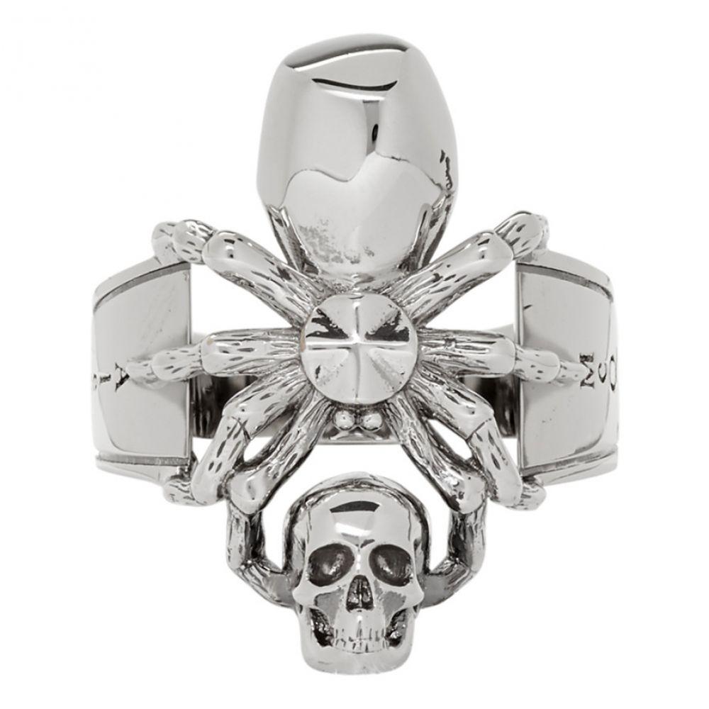 アレキサンダー マックイーン Alexander McQueen メンズ ジュエリー・アクセサリー 指輪・リング【Silver Spider Ring】