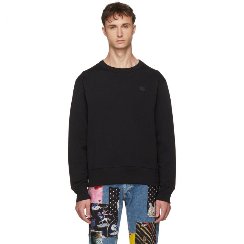 アクネ ストゥディオズ Acne Studios メンズ トップス スウェット・トレーナー【Black Fairview Face Sweatshirt】
