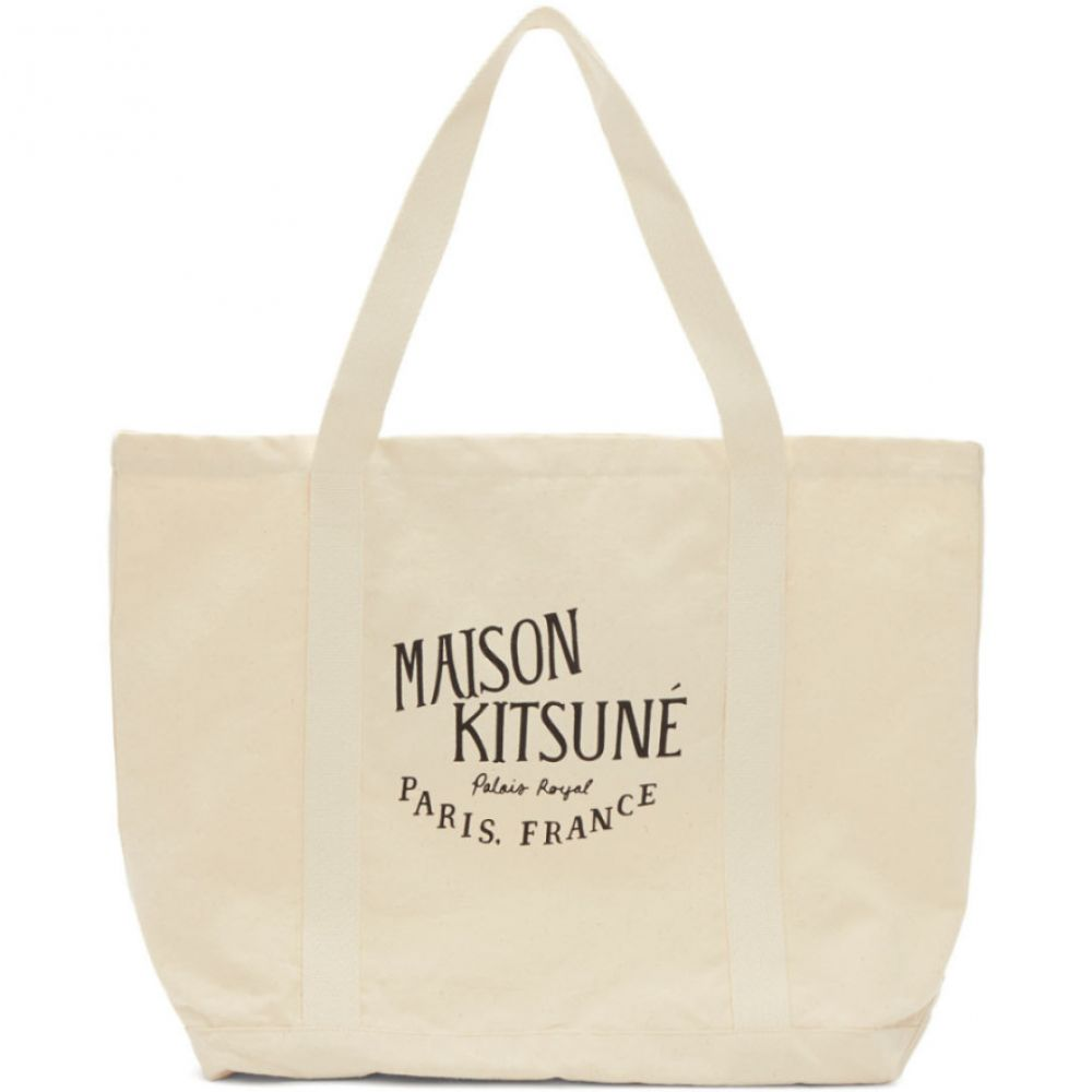 メゾン キツネ Maison Kitsune レディース バッグ トートバッグ【Off-White 'Palais Royal' Shopping Tote】