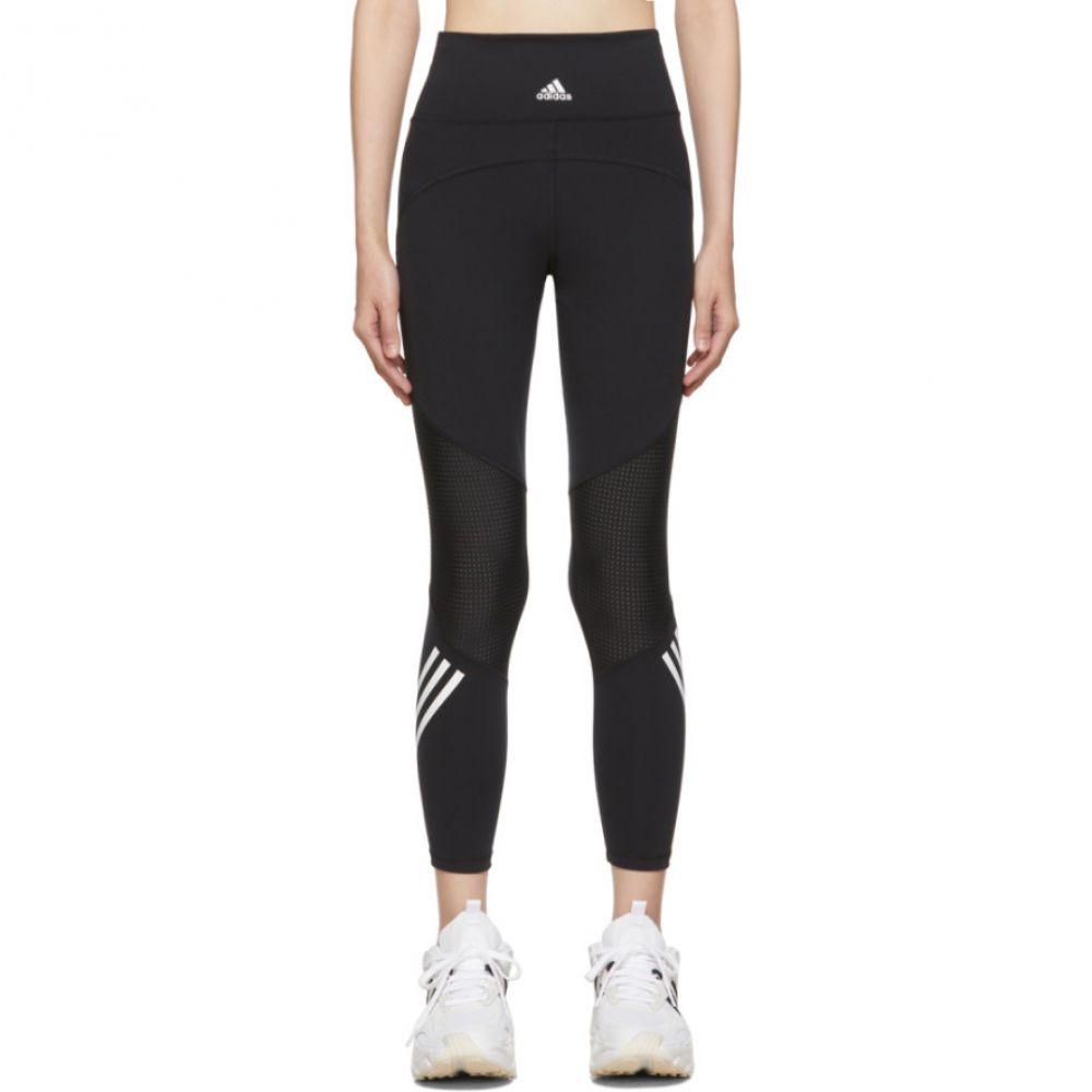 アディダス adidas Originals レディース インナー・下着 スパッツ・レギンス【Black Believe This High-Rise 7/8 Leggings】Black/White