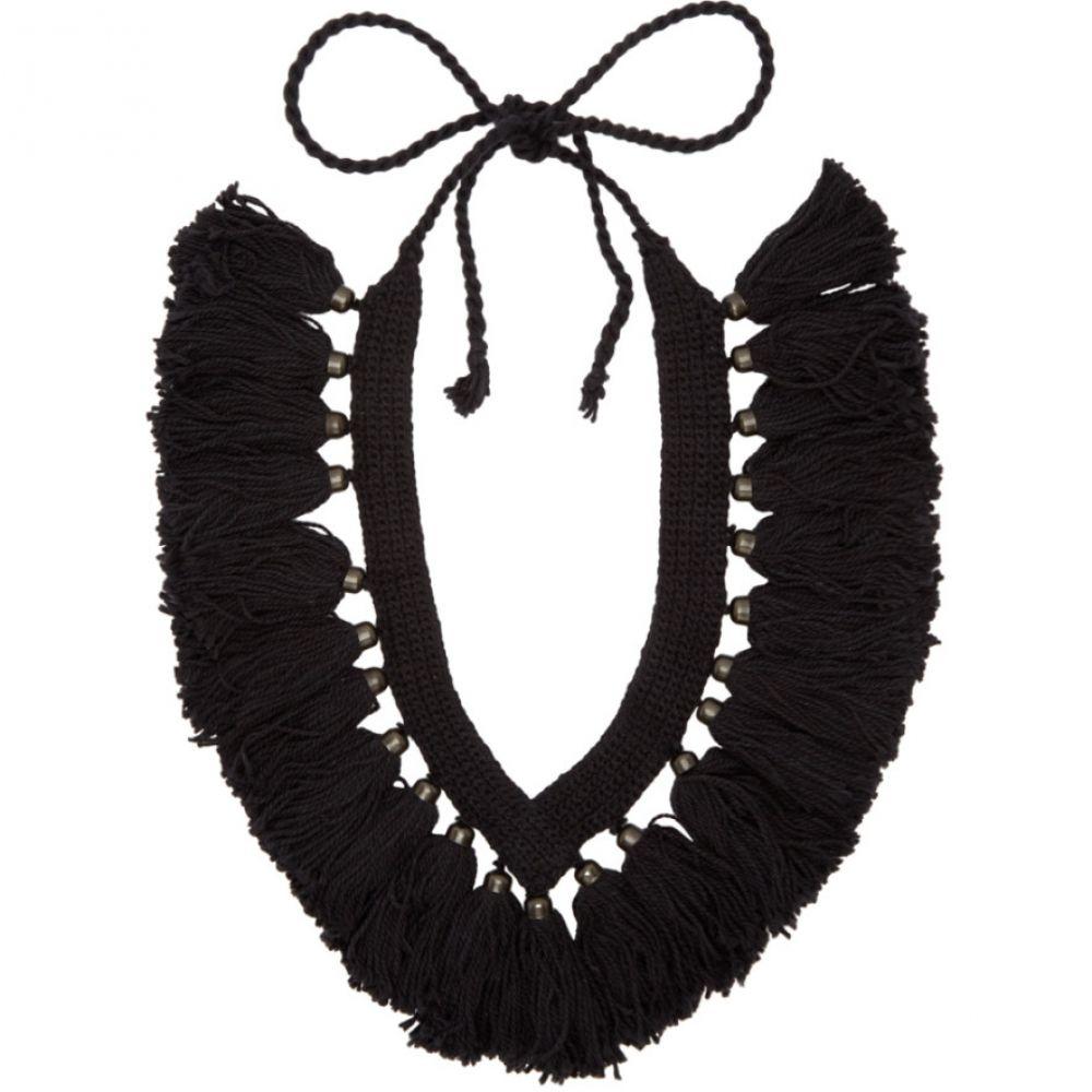 ランダム アイデンティティーズ Random Identities メンズ ジュエリー・アクセサリー ネックレス【Black Woven Necklace】Black