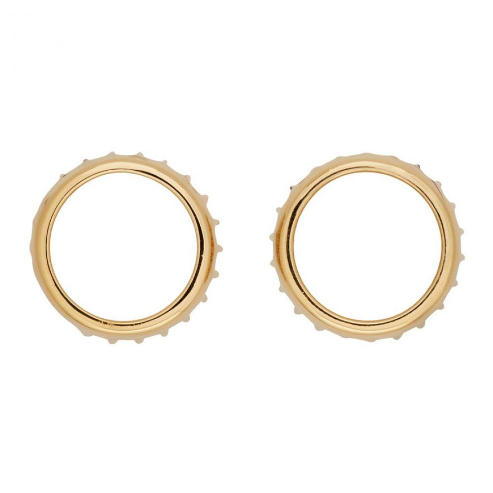 アーペーセー A.P.C. メンズ ジュエリー・アクセサリー イヤリング・ピアス【Gold Alex Earrings】Gold