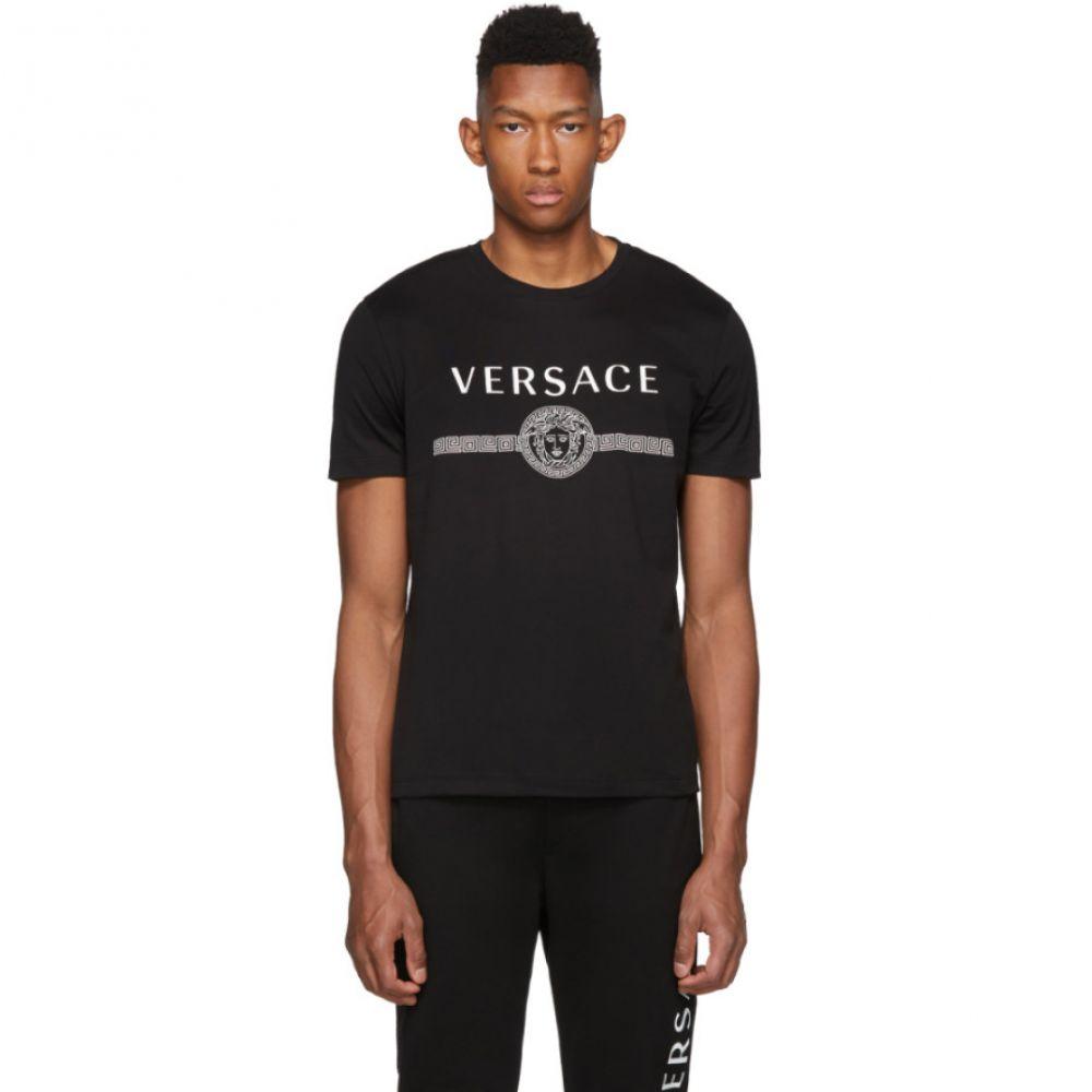 ヴェルサーチ Versace メンズ トップス Tシャツ【Black Medusa T-Shirt】Black