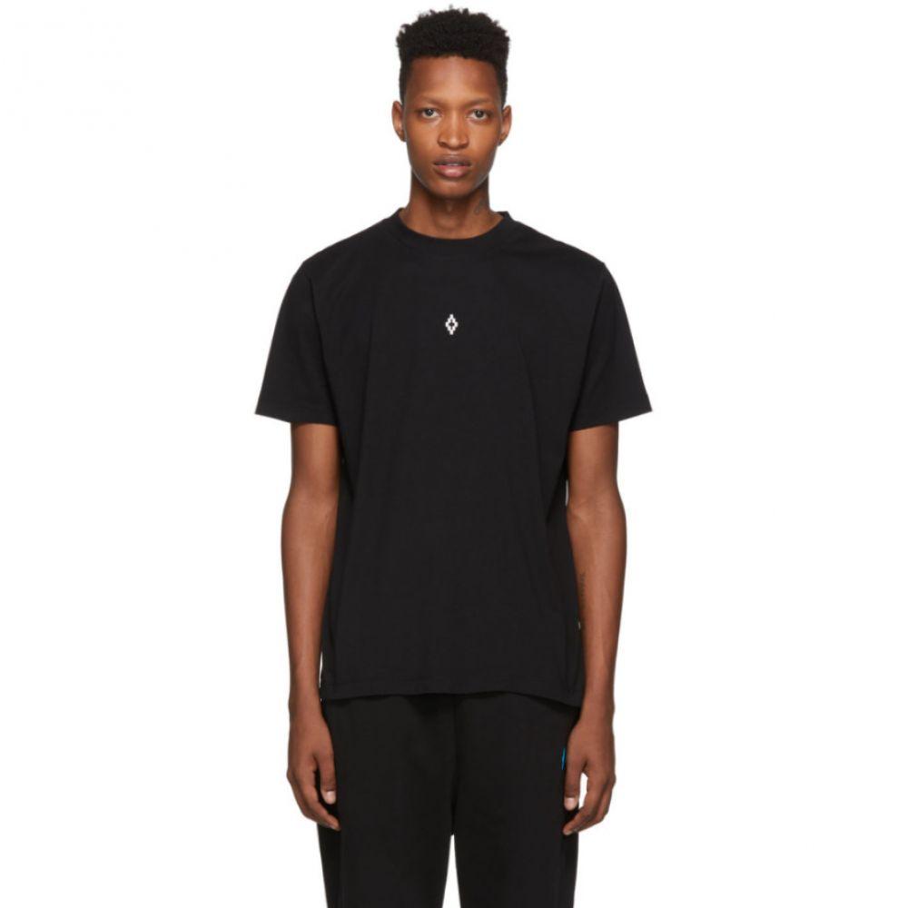 マルセロバーロン Marcelo Burlon County of Milan メンズ トップス Tシャツ【Black Heart Wings T-Shirt】Black white