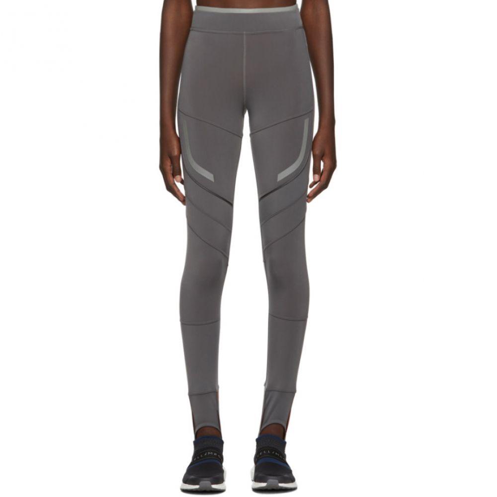 アディダス adidas by Stella McCartney レディース インナー・下着 スパッツ・レギンス【Black Run Climaheat Leggings】Grey