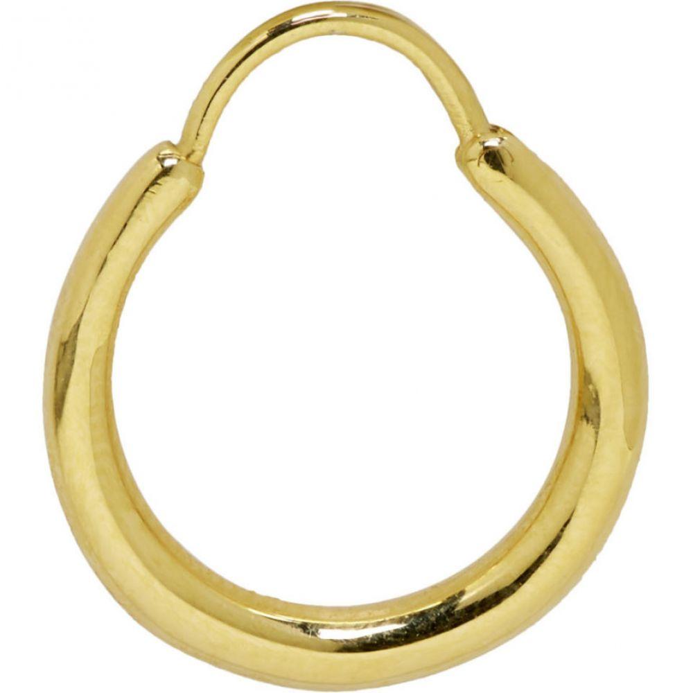 オールブルース All Blues メンズ ジュエリー・アクセサリー イヤリング・ピアス【Gold Polished Hungry Baby Snake Earring】Gold