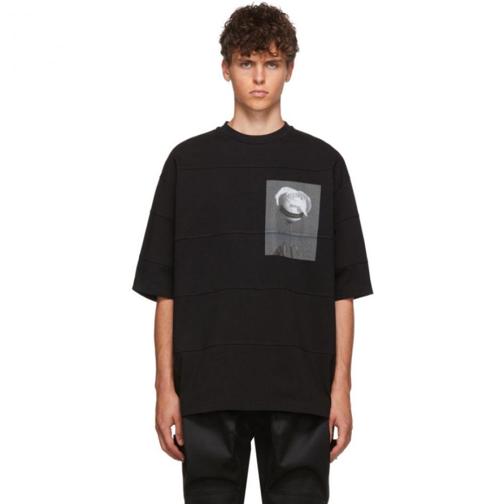 オールモストブラック ALMOSTBLACK メンズ トップス Tシャツ【Black Rose T-Shirt】Black