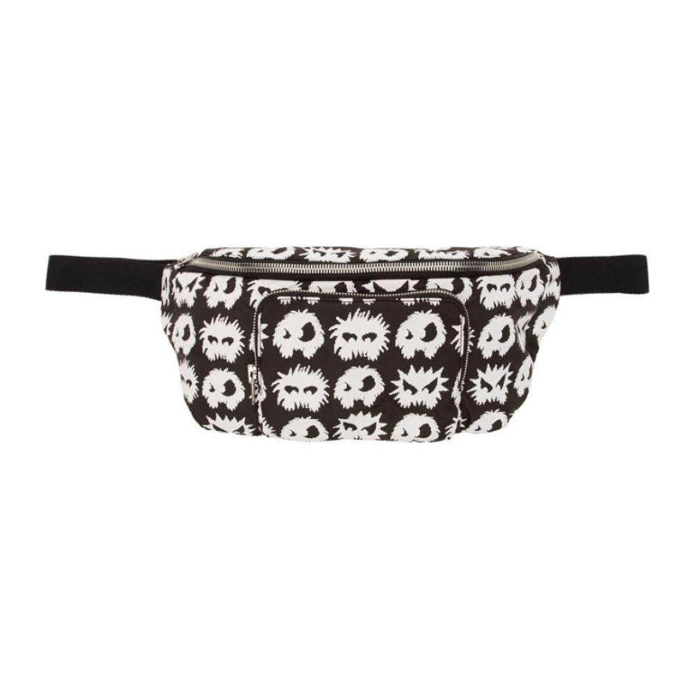 アレキサンダー マックイーン McQ Alexander McQueen メンズ バッグ ボディバッグ・ウエストポーチ【Black Hyper Waist Bag】Black/White