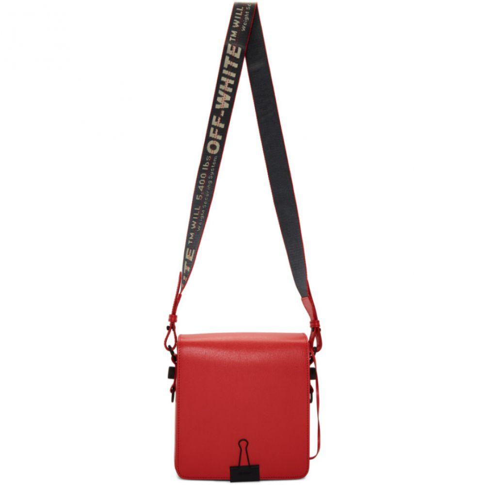 オフ-ホワイト no バッグ【Red color Off-White Bag】Red メンズ Binder Clip