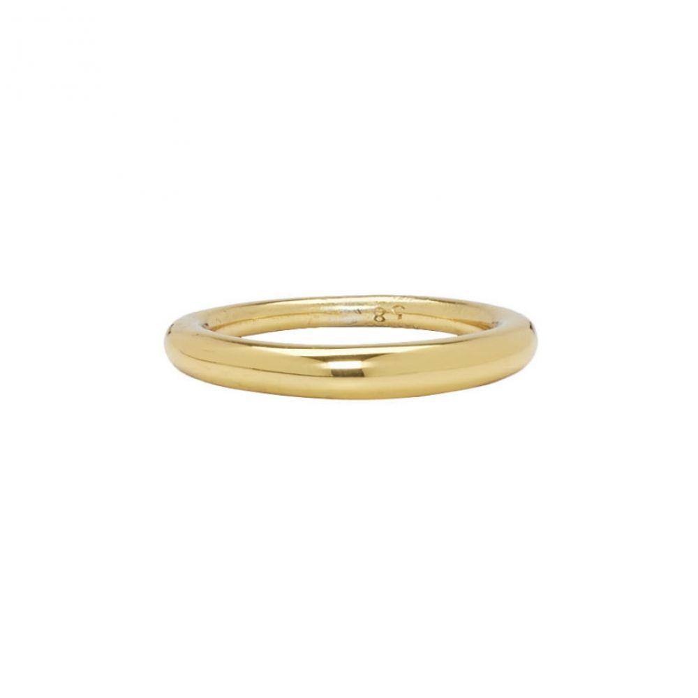 オールブルース All Blues メンズ ジュエリー・アクセサリー 指輪・リング【Gold Polished Hungry Snake Ring】Gold