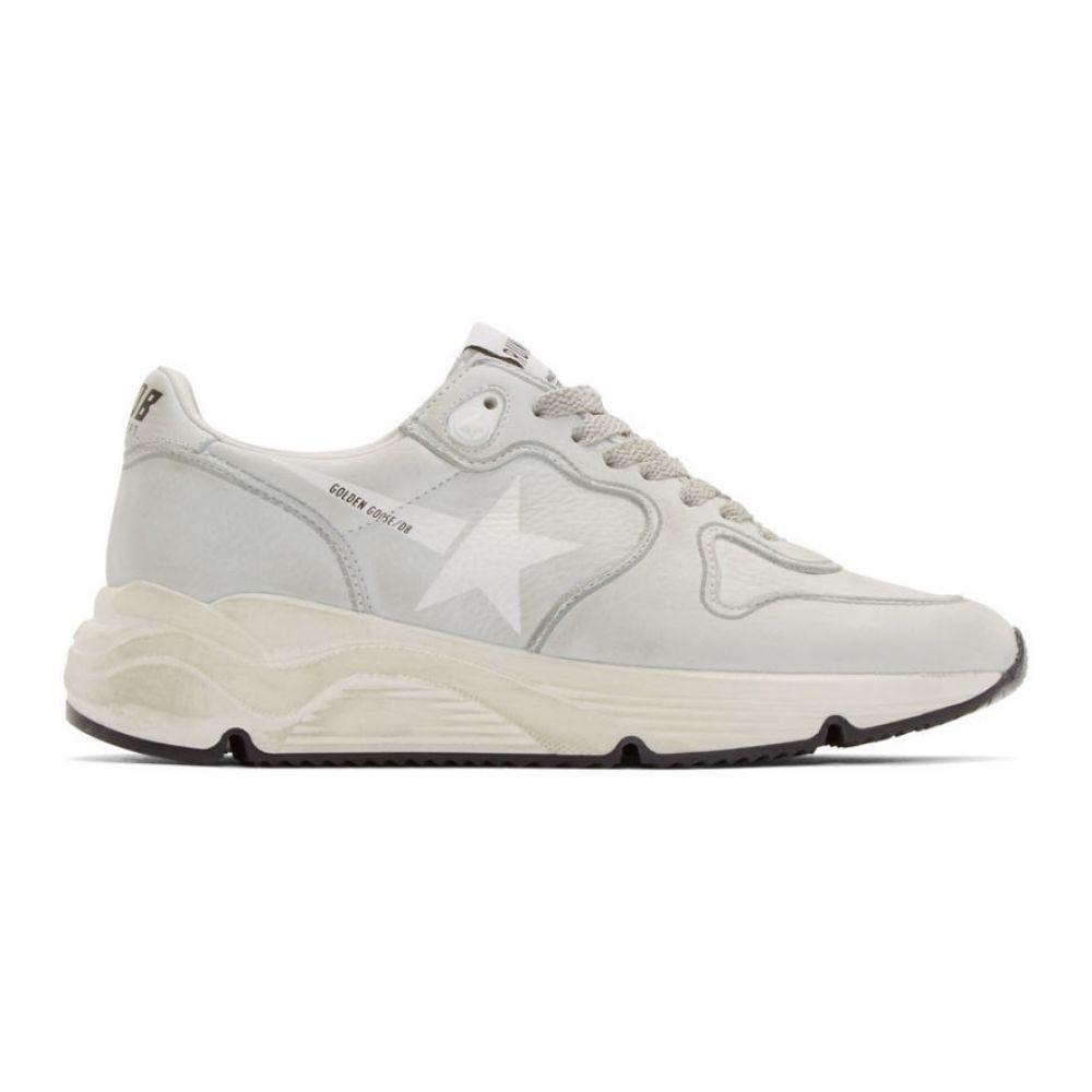 ゴールデン グース Golden Goose レディース ランニング・ウォーキング シューズ・靴【Grey Running Sole Sneakers】White