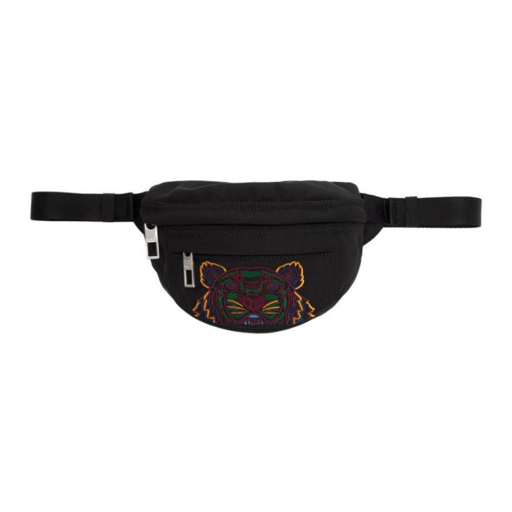 ケンゾー Kenzo レディース バッグ ボディバッグ・ウエストポーチ【Black Mini Tiger Bum Bag】Black