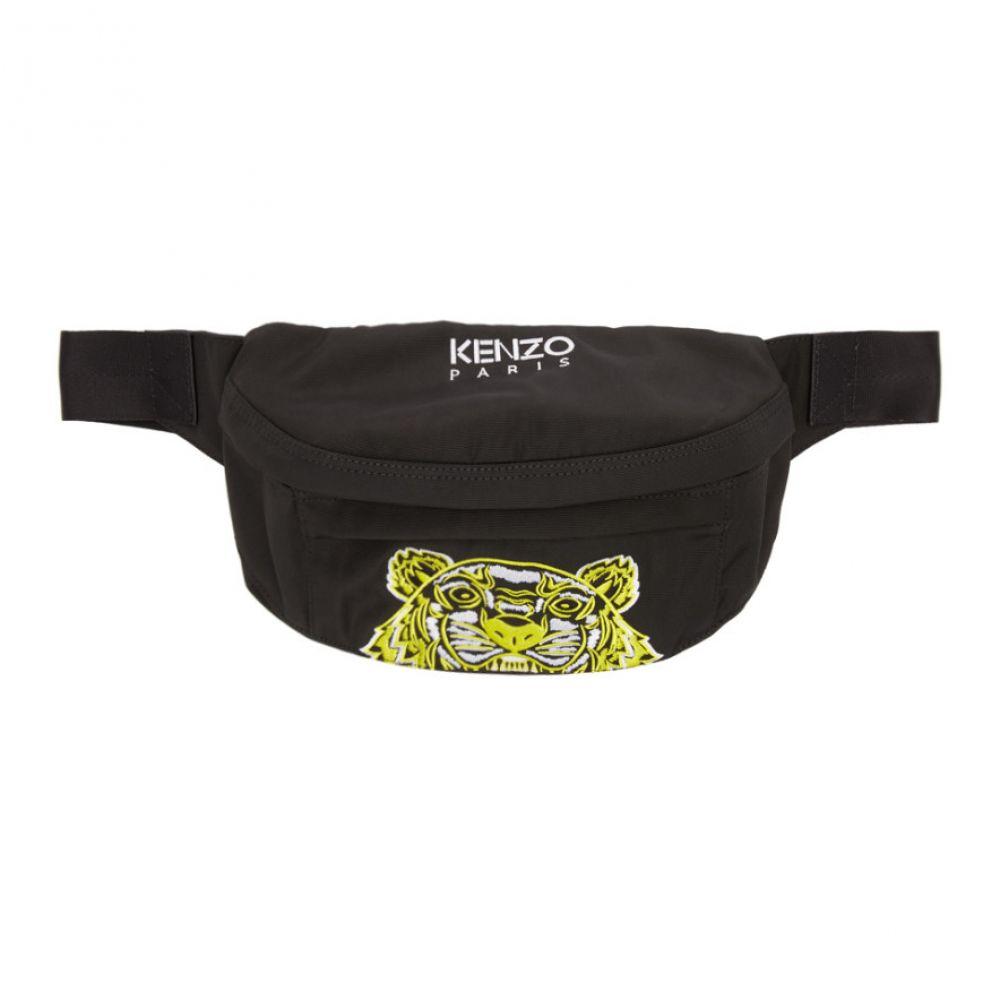 ケンゾー Kenzo メンズ バッグ ボディバッグ・ウエストポーチ【Black Limited Edition High Summer Bum Bag】Black