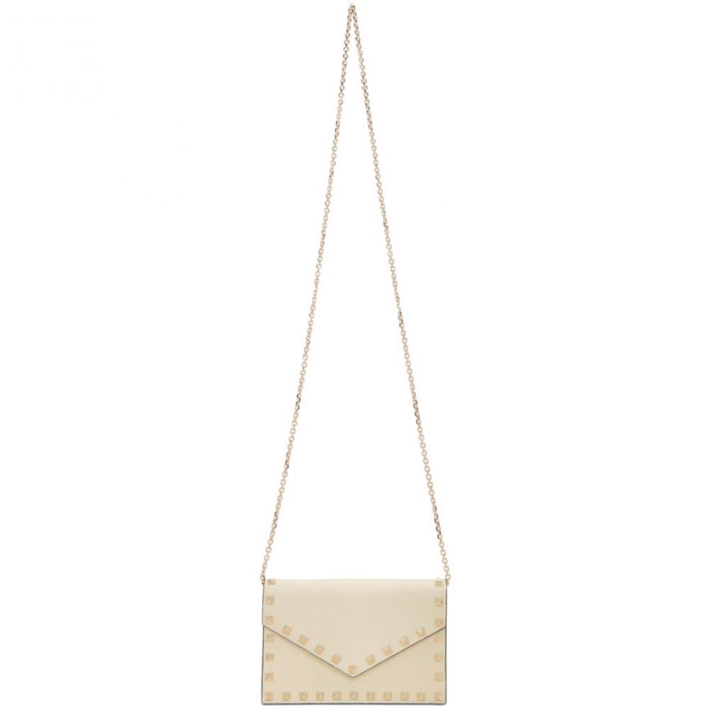 ヴァレンティノ Valentino 返品不可 レディース バッグ Off-White Garavani Bag Light Chain ivory Rockstud 最新号掲載アイテム