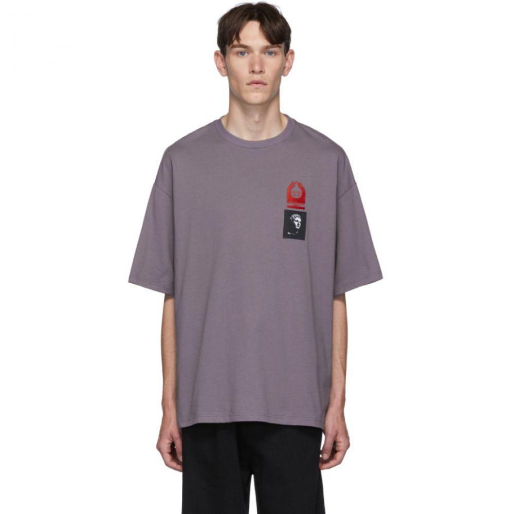 ランバン Lanvin メンズ トップス Tシャツ【Purple Patches T-Shirt】Lilac