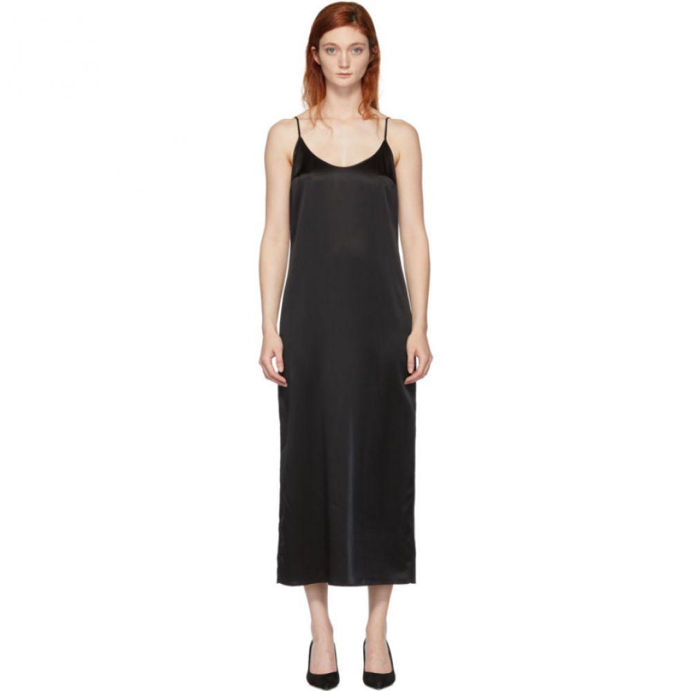 ラ ペルラ La Perla レディース ワンピース・ドレス ワンピース【Black Silk Slip Dress】Black