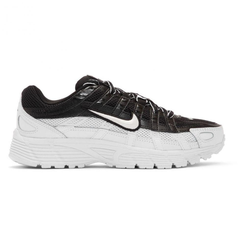 ナイキ Nike レディース シューズ・靴 スニーカー【Black & White P-6000 Sneakers】Black/White